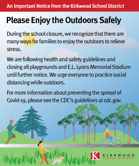 Please Enjoy the Outdoors Safely