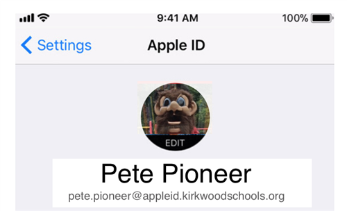 KSD Managed Apple IDs