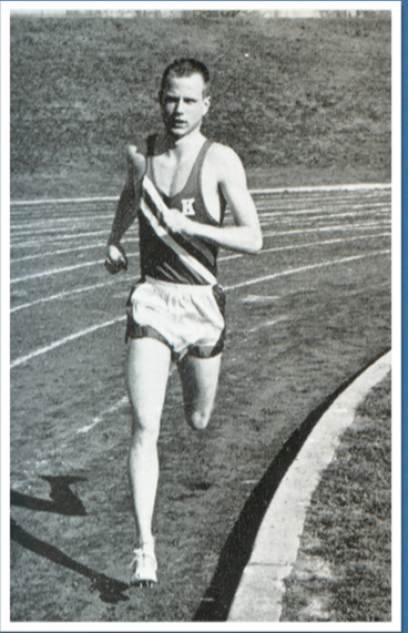 In 1965 Jim Olson ran the mile in 4:04.9 and the 800 in 1:53.4