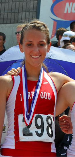 Hannah Richardson 800m run Record Holder 2:14.97 2011
