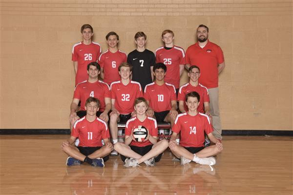 JV Boys Volleyball Team