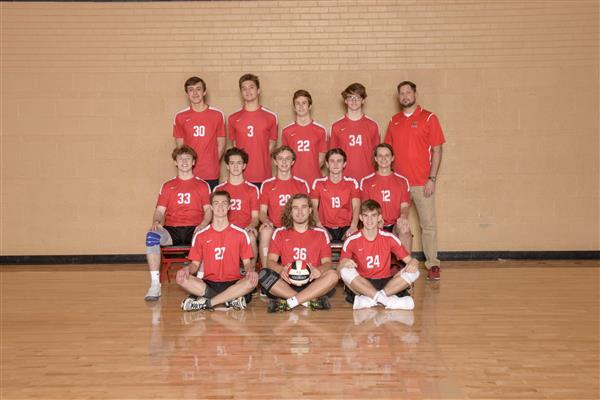 Varsity Boys Volleyball Team