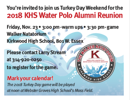Water Polo Reunion