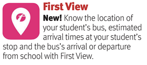 First View - Bus Transportation