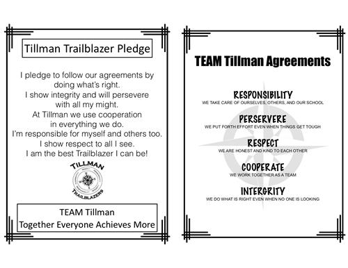 TEAM Tillman Agreements