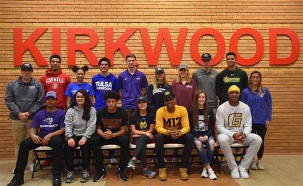 KHS Seniors Earning Athletic Scholarships