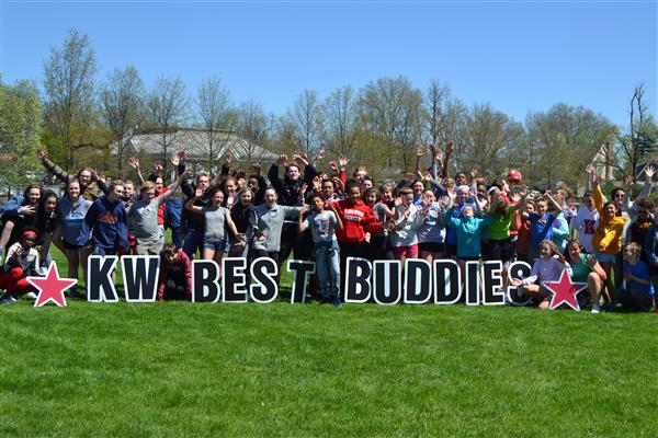 Students at Nipher Middle School celebrated Best Buddies International with an inaugural Buddy Walk.