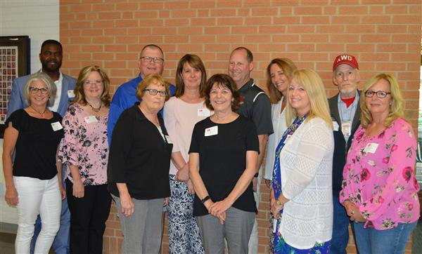 KSD honored employees retiring and recognized those with 25 years of service in education.