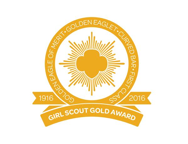 Girl Scouts Gold Award Logo