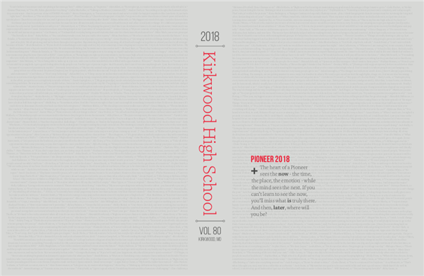Kirkwood Pioneer earns all American rating from NSPA