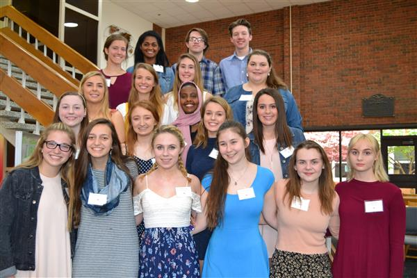 KSDF 2018 Scholarship Recipients